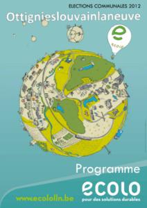 programme écolo 2012